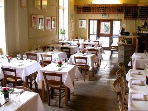 Truc Vert restaurant interior.