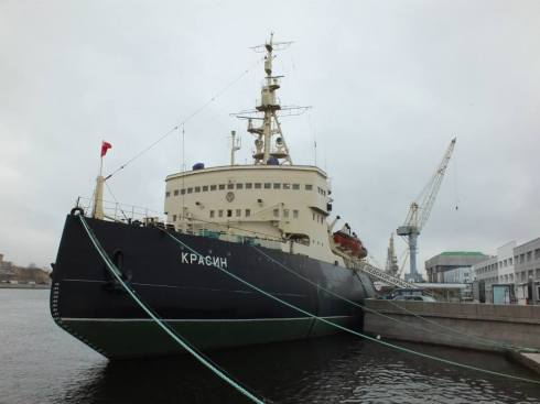 The Krasin icebreaker.