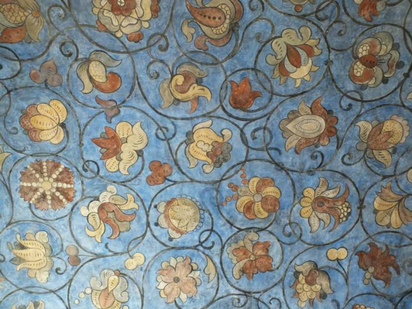 Interior wall detail.