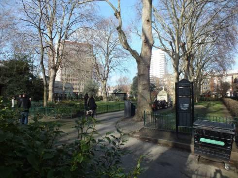 Paddington Street Gardens.