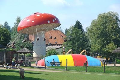 Erlebnispark Steinau, an amusement park in Steinau an der Strasse, childhood home of the Brothers Grimm.