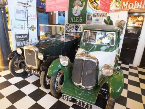 Motor museum.