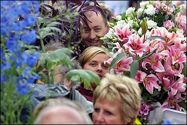 Royal Chelsea Flower Show (photo courtesy of the Telegraph).