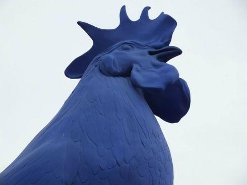 Hahn/Cock in Trafalgar Square.