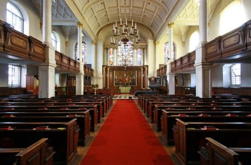 St. George's church, Hanover Square, London.