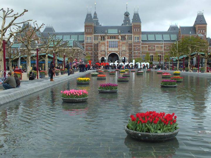 The Rijksmuseum - Dutch national museum.
