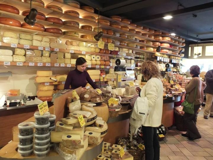 Great cheese shop.