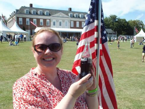 Me...having a very American moment.