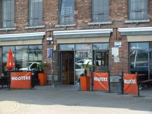 Hooters restaurant in Nottingham.