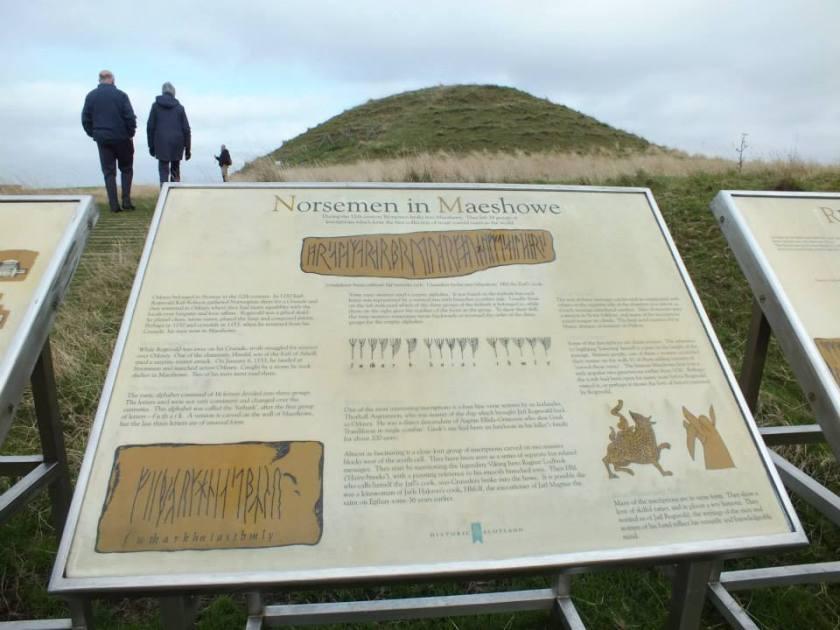 Exterior of Maeshowe.