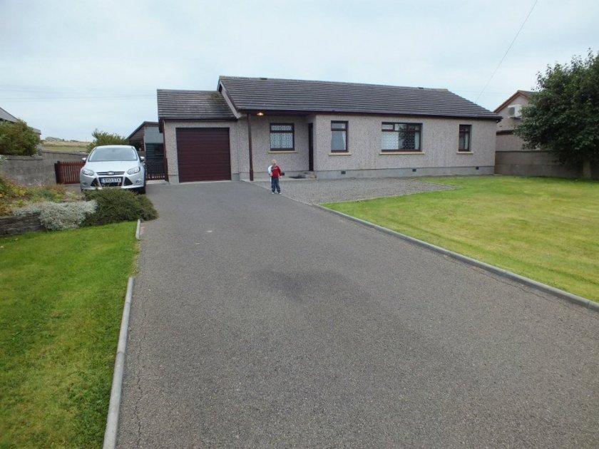 Our little rental cottage.