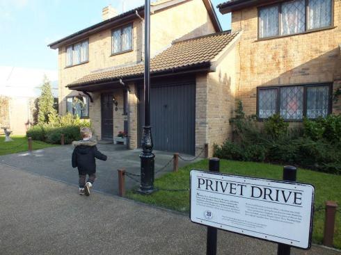 Exterior lot: Privet Drive.