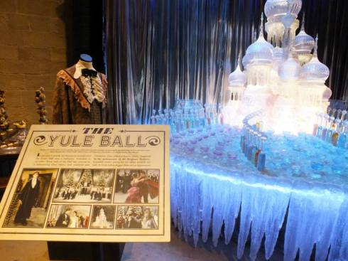 Yule Ball ice sculpture prop.