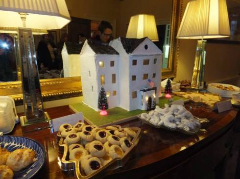 The DCM's residence in gingerbread. :)