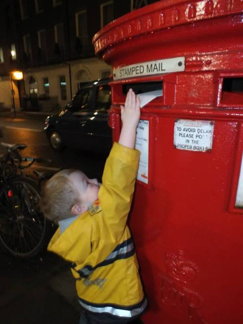 First letter to Santa!