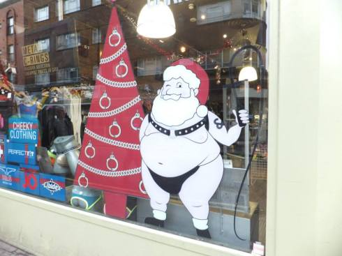 A corner shop in Soho.