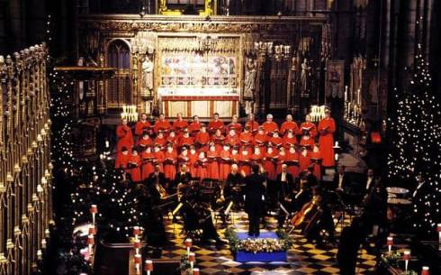 Westminster Abbey Choir (internet photo).