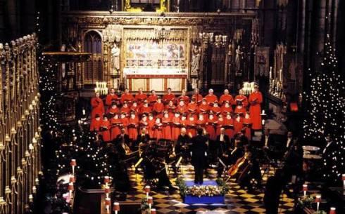 Westminster Abbey Choir (internet photo).