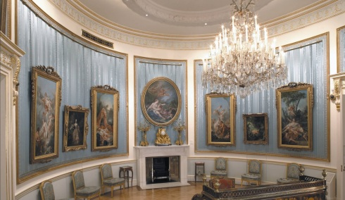 The Oval Drawing Room.