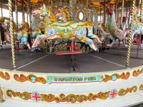 Pretty carousel.