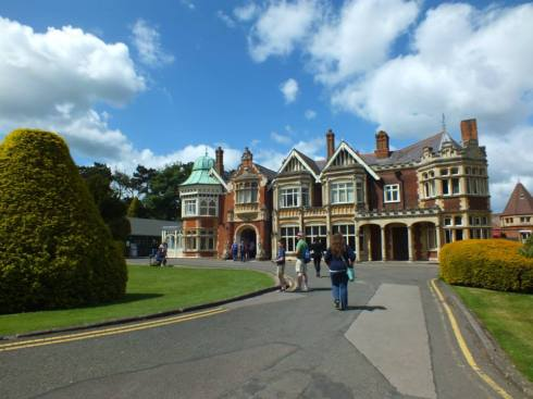 The Mansion House at Bletchley Park.