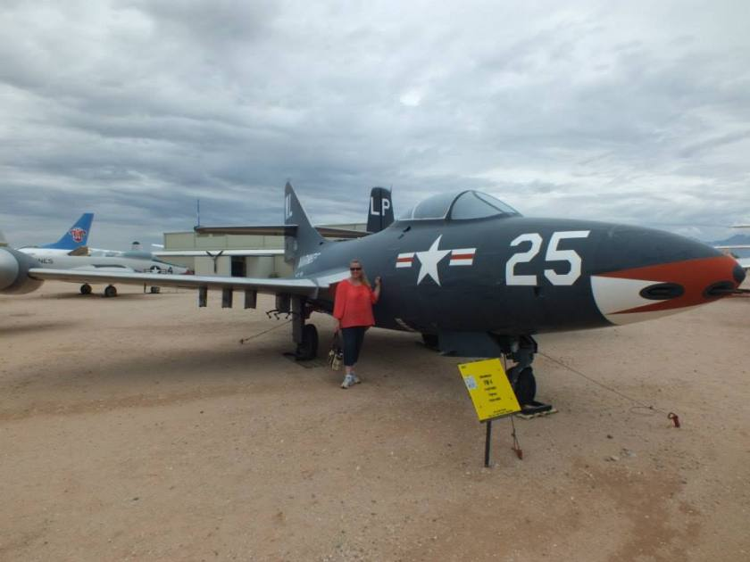 Me by an F-4.