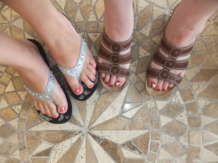 Pedicures from The Art of Nails.