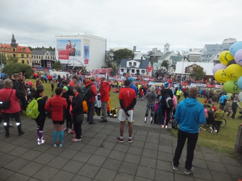 A section of the Reykjavik Marathon.
