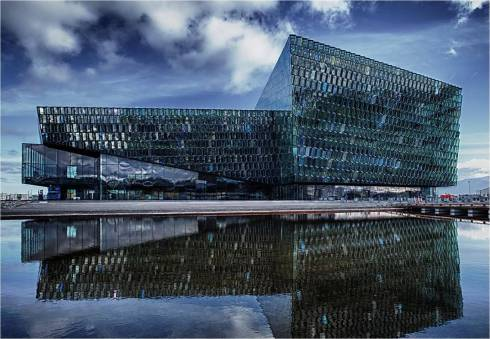 Harpa Concert Hall and Conference Centre, the main venue for the Arctic Circle Conference (internet photo).