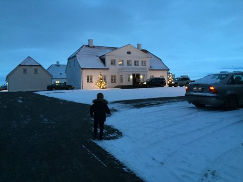 The president of Iceland's residence: Bessastaðir, which started out as a farm in 13th century owned by writer Snorri Sturluson.