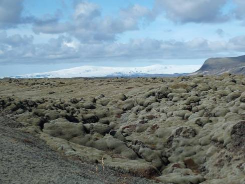 The Eldhraun lava field, created by a massive eruption in 1783.