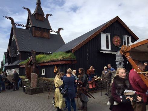 Viking Village restaurant.