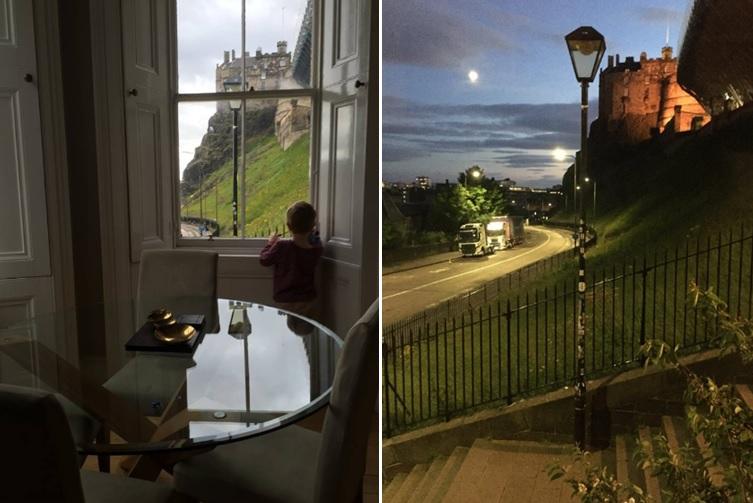 Edinburgh Castle View Apartment.